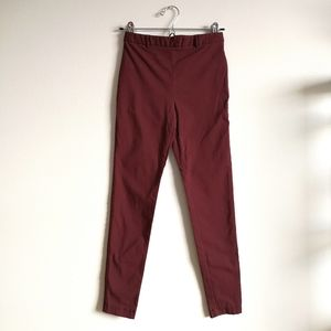 💛[3/$15] Forever 21 Burgundy Stretchy Pants